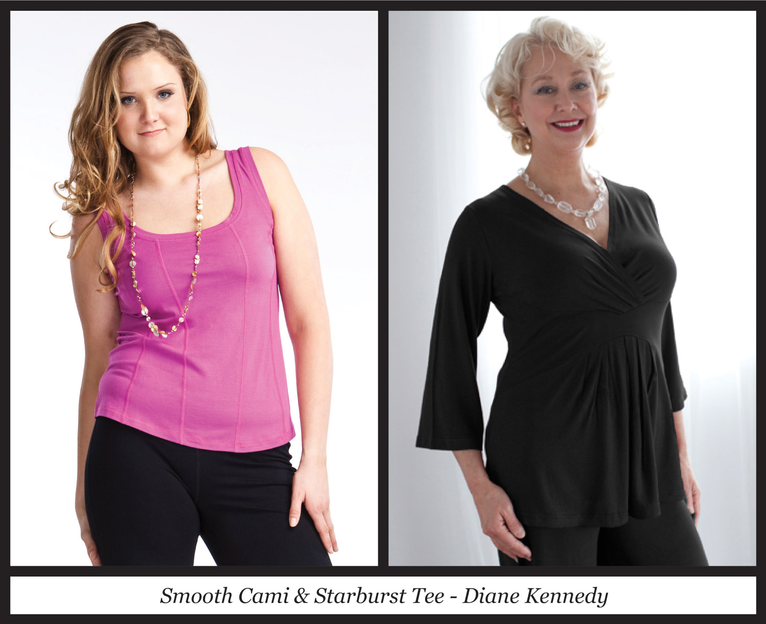 Plus Size Proportions: Hourglass Shape