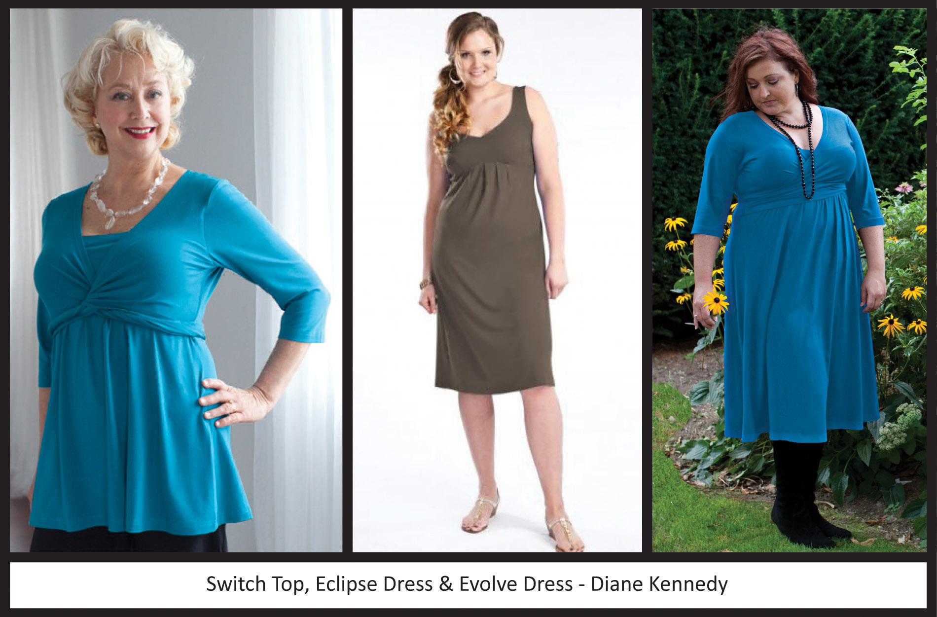 Plus Size Proportions: Apple Shape | msdianekennedy